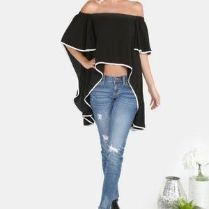 Tops - New  never worn off-shoulder top